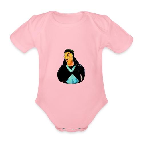 DARIAN - Body orgánico de maga corta para bebé