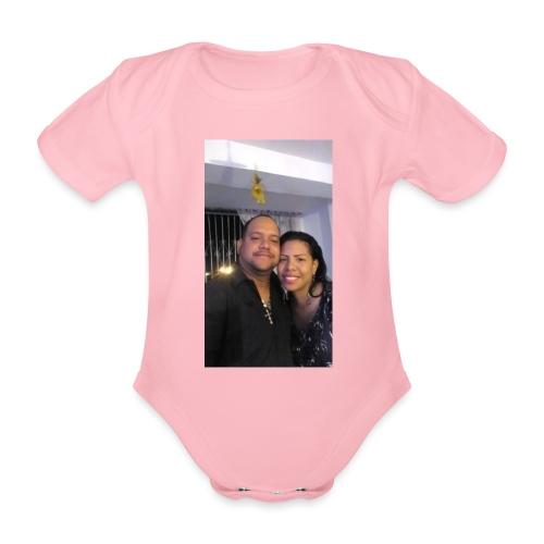 15844878 10211179303575556 4631377177266718710 o - Body orgánico de maga corta para bebé