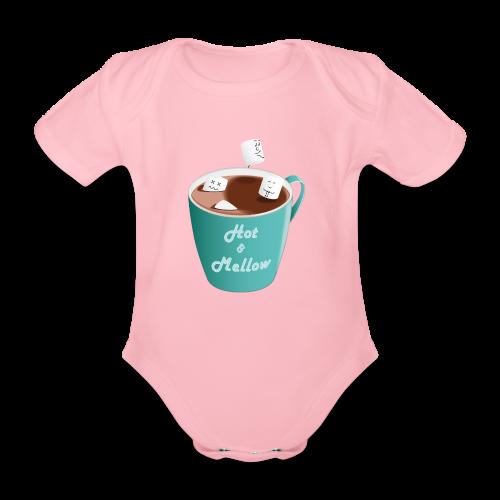 Hot & Mellow - foodcontest - Organic Short-sleeved Baby Bodysuit