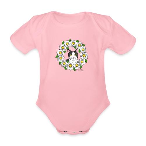 Flora - Vauvan lyhythihainen luomu-body