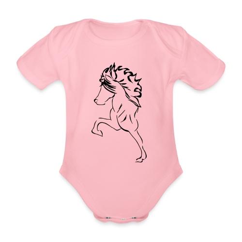 islaender - Organic Short-sleeved Baby Bodysuit