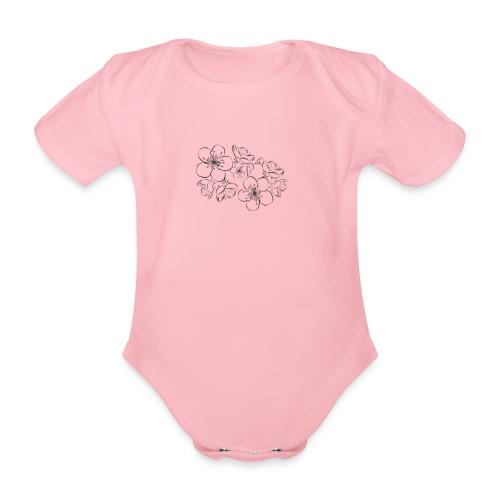 spring 2 - Body ecologico per neonato a manica corta