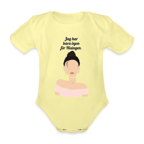Eyes for Hisingen - Ekologisk kortärmad babybody
