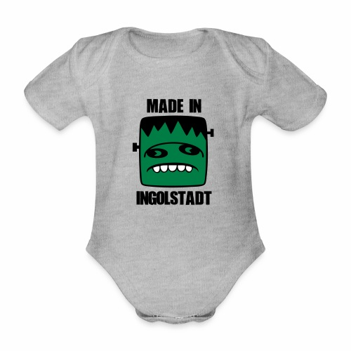 Fonster made in Ingolstadt - Baby Bio-Kurzarm-Body