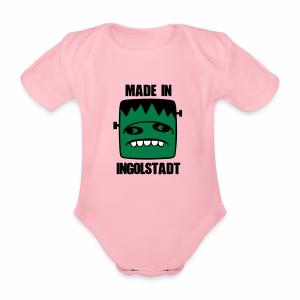 Fonster made in Ingolstadt - Baby Bio-Kurzarm-Body