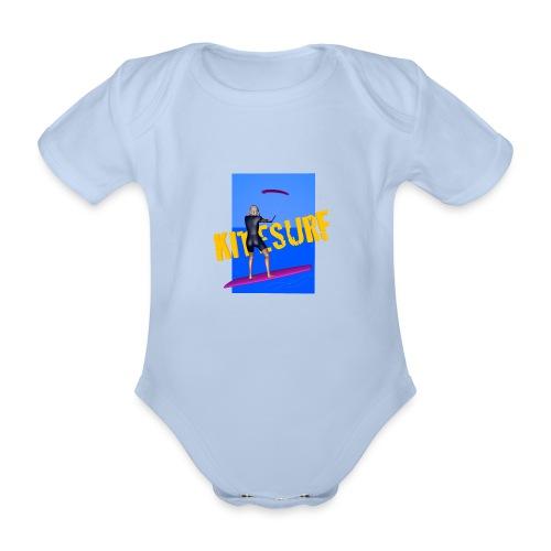KITESURF FEMME - Body Bébé bio manches courtes