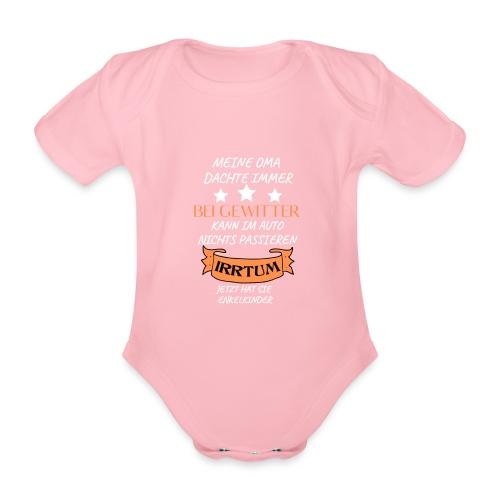OMA - Baby Bio-Kurzarm-Body
