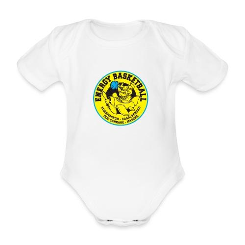 baby energy basketball - Body ecologico per neonato a manica corta