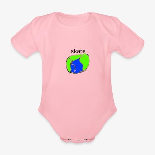 aiga cashier - Kortærmet babybody, økologisk bomuld