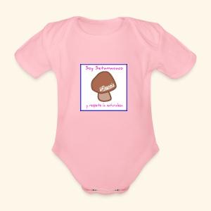 Soy Setamaniaco - Body orgánico de maga corta para bebé