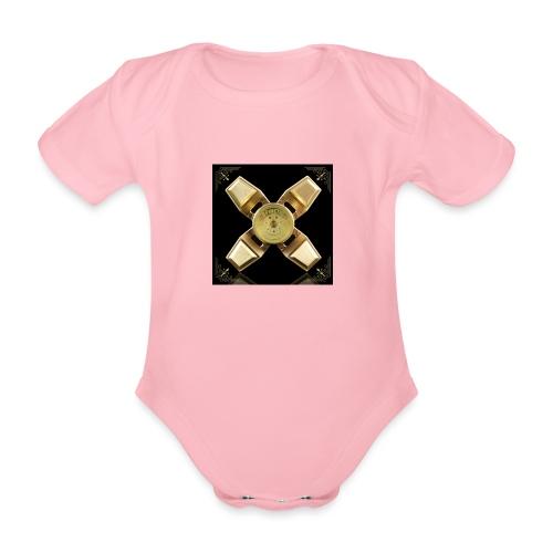 Spinneri paita - Vauvan lyhythihainen luomu-body