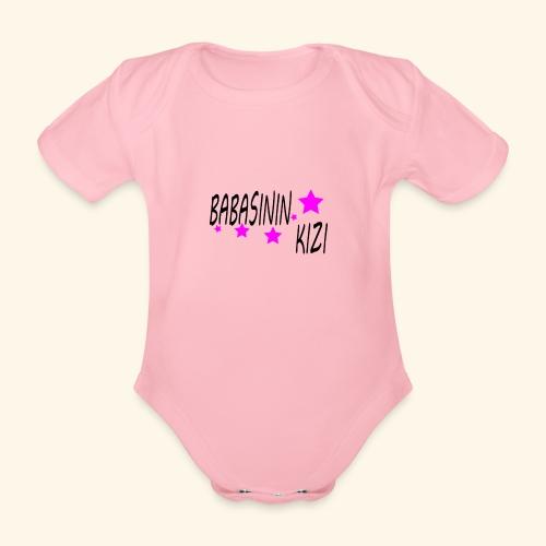BABASININ KIZI - Baby Bio-Kurzarm-Body