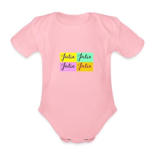 Julie Pop art - Body bébé bio manches courtes
