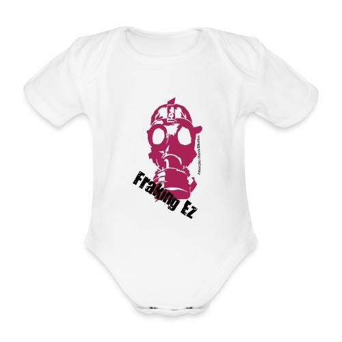 Anti - fraking - Body orgánico de manga corta para bebé