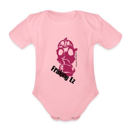 Anti - fraking - Body orgánico de maga corta para bebé