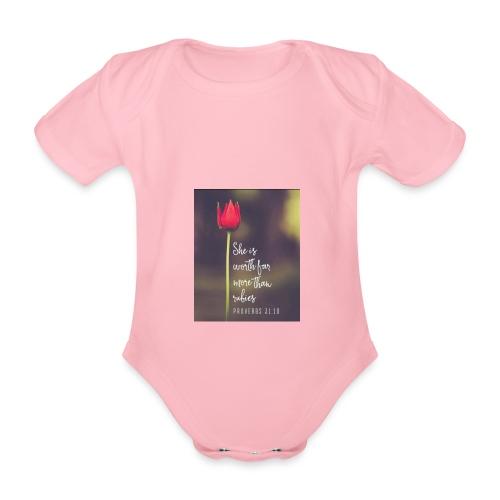 IMG 20180308 WA0027 - Organic Short-sleeved Baby Bodysuit