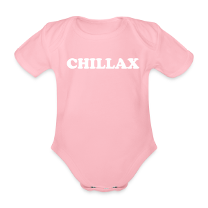 chill Collection - Økologisk kortermet baby-body