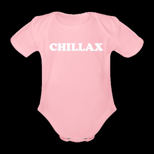 chill Collection - Økologisk kortermet baby-body