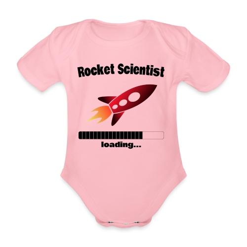Rocket Scientist loading... Baby Motiv - Baby Bio-Kurzarm-Body