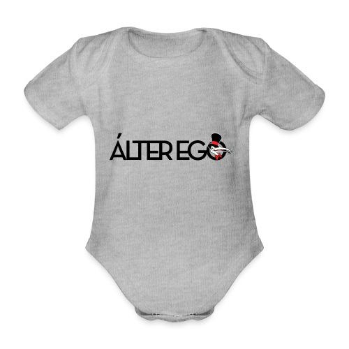 ÁLTER EGO - Body orgánico de maga corta para bebé