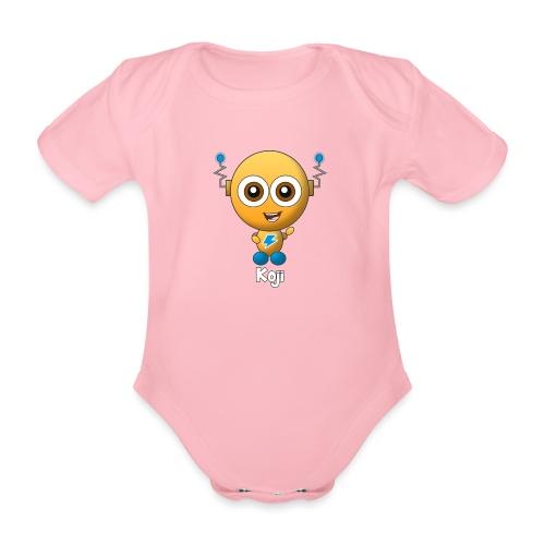 Koji - Baby bio-rompertje met korte mouwen