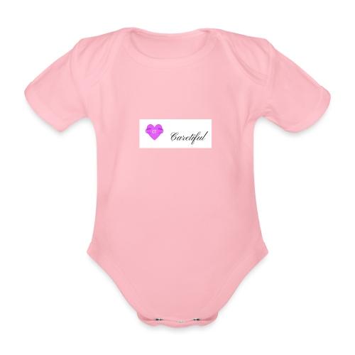 caretiful - Body orgánico de maga corta para bebé