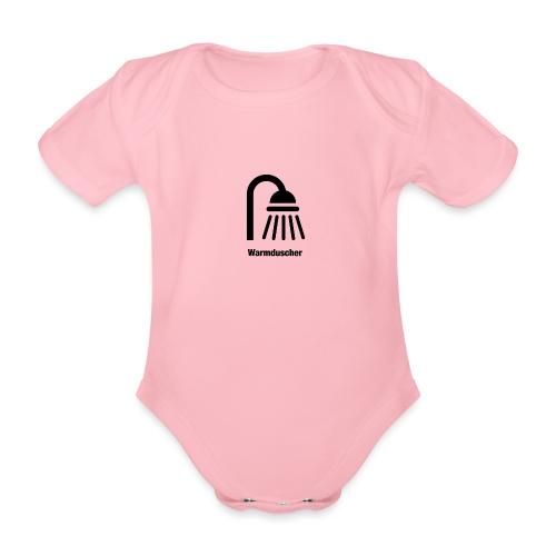 Warmduscher - Baby Bio-Kurzarm-Body