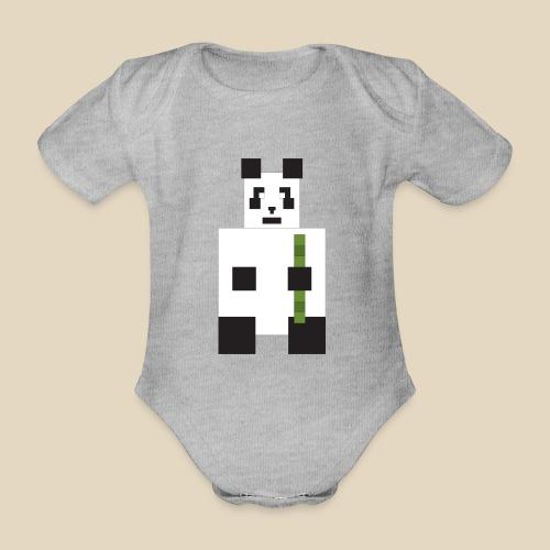 Panda - Body Bébé bio manches courtes
