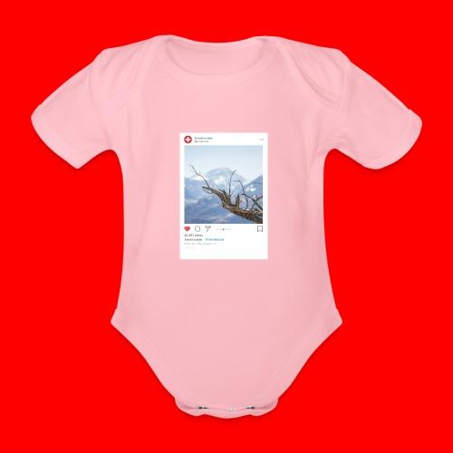 travelsuisse - Ast Berge - Baby Bio-Kurzarm-Body