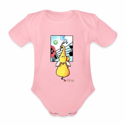 Ellafant Klangbild I - Baby Bio-Kurzarm-Body