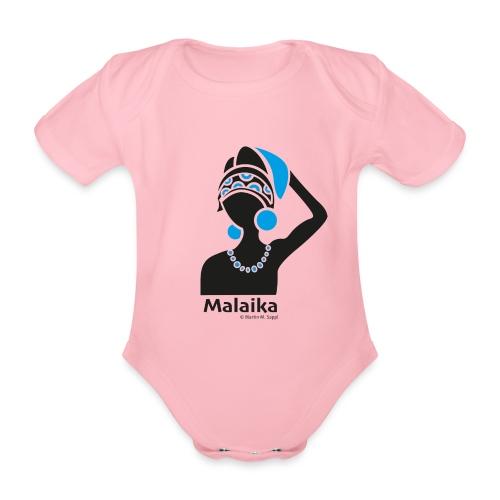 Malaika - Afrika Frau - Baby Bio-Kurzarm-Body