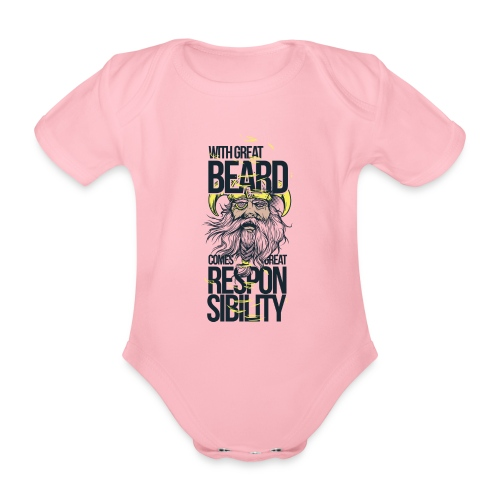 Beard - Ekologisk kortärmad babybody