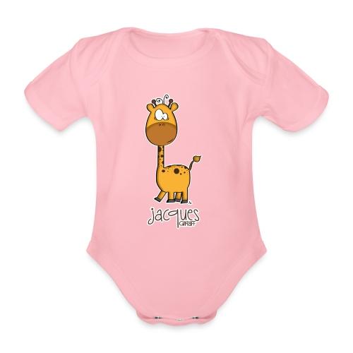 JACQUES Giraff - Baby Bio-Kurzarm-Body