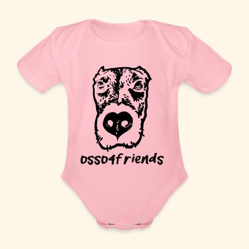 Logo NERO TRASPARENTE creative - Body ecologico per neonato a manica corta