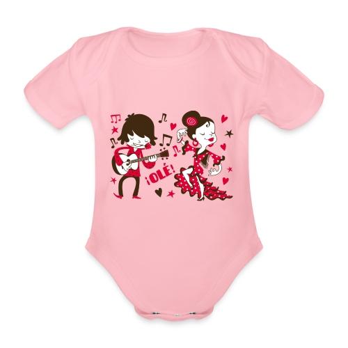 GITANILLOS - Body orgánico de manga corta para bebé