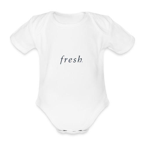 Fresh - Organic Short-sleeved Baby Bodysuit