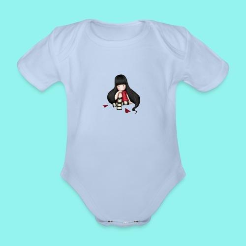 88 - Body orgánico de manga corta para bebé