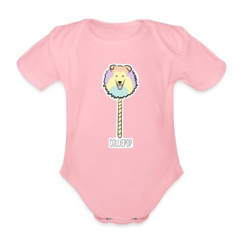 Colliepop - Baby Bio-Kurzarm-Body