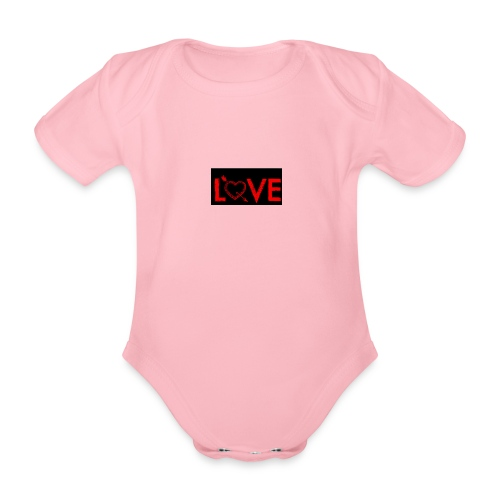 Baby's Love Dream Wear - Organic Short-sleeved Baby Bodysuit