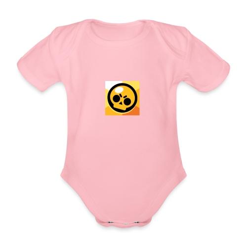 Brawl stars - Baby bio-rompertje met korte mouwen