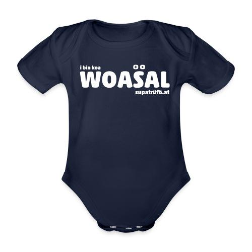 supatrüfö WOASAL - Baby Bio-Kurzarm-Body