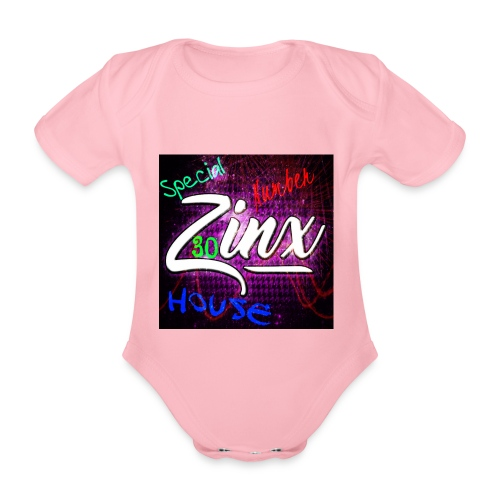 Zinx Merch - Organic Short-sleeved Baby Bodysuit