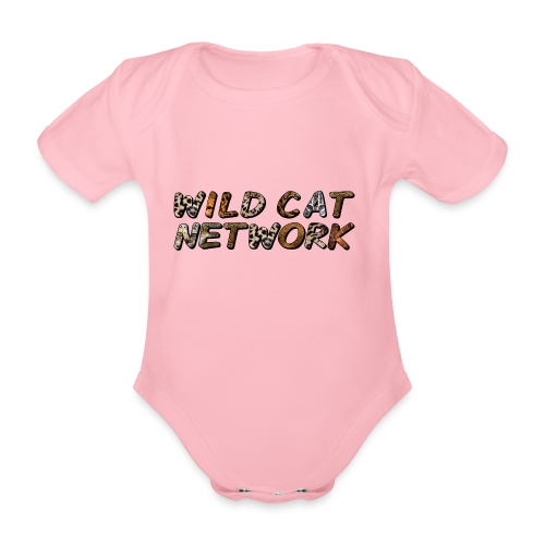 WildCatNetwork 1 - Organic Short-sleeved Baby Bodysuit