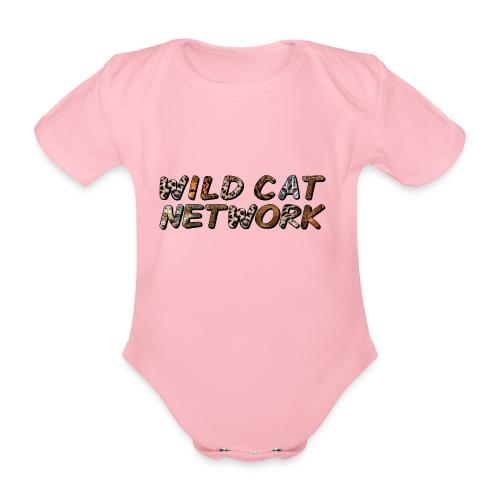 WildCatNetwork 1 - Organic Short-sleeved Baby Bodysuit