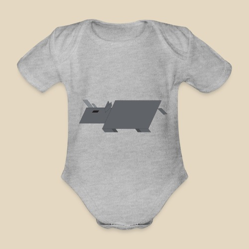Rhino - Body Bébé bio manches courtes