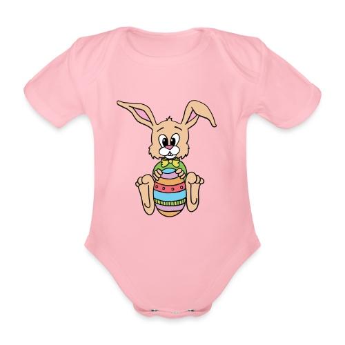 Easter Bunny Shirt - Baby Bio-Kurzarm-Body