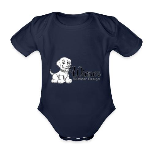 Wiener Wunder Hund - Baby Bio-Kurzarm-Body