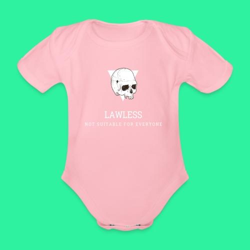 LAWLESS - Baby Bio-Kurzarm-Body