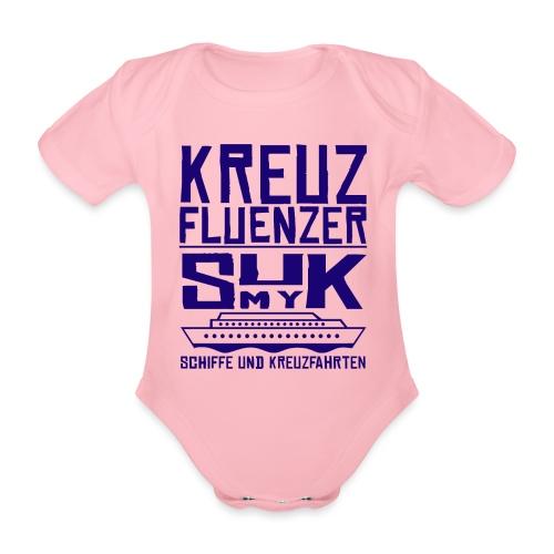 Kreuzfluenzer - SuK my Ship - Baby Bio-Kurzarm-Body