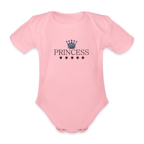 Princess - Vauvan lyhythihainen luomu-body